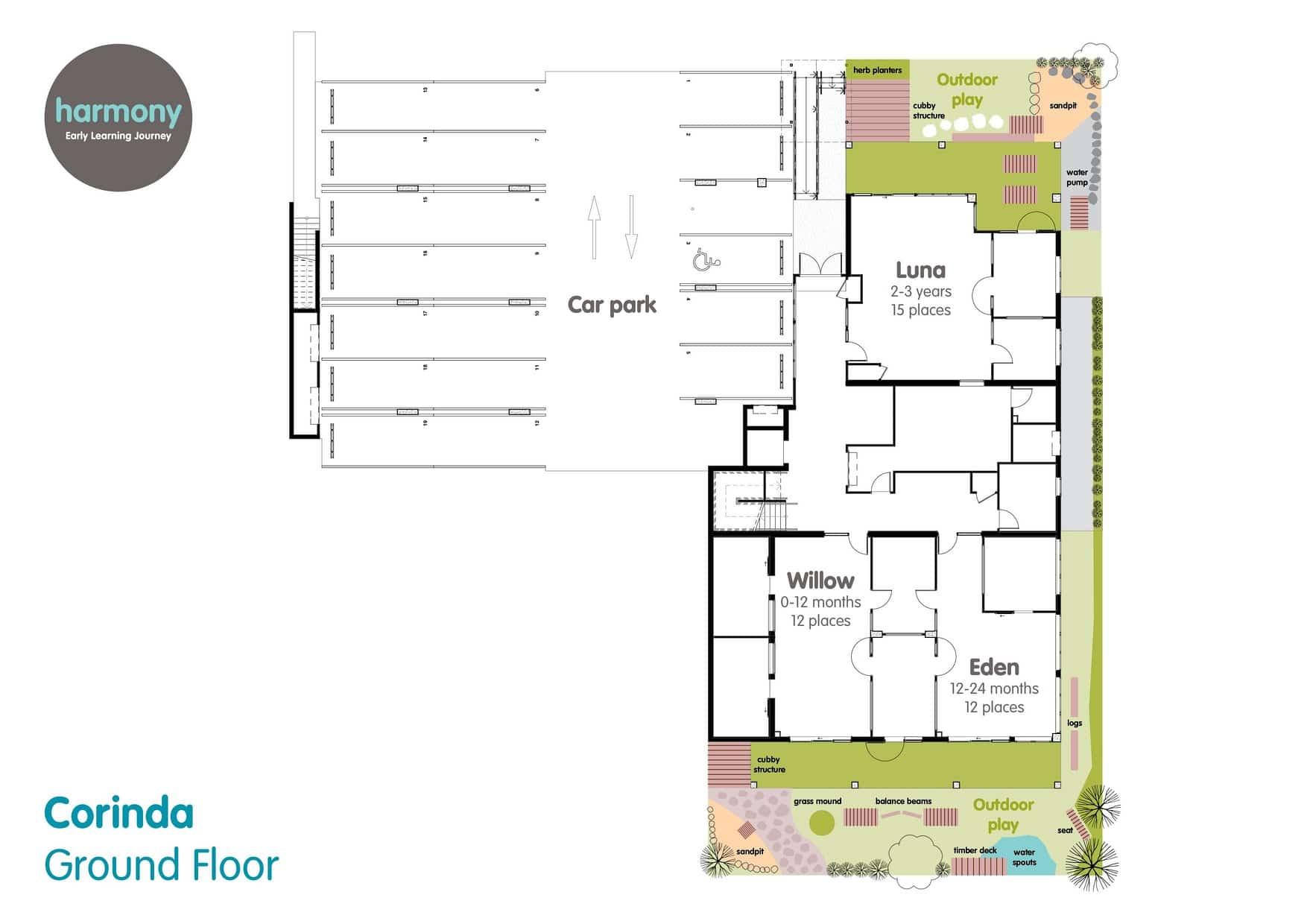 corinda floor plan