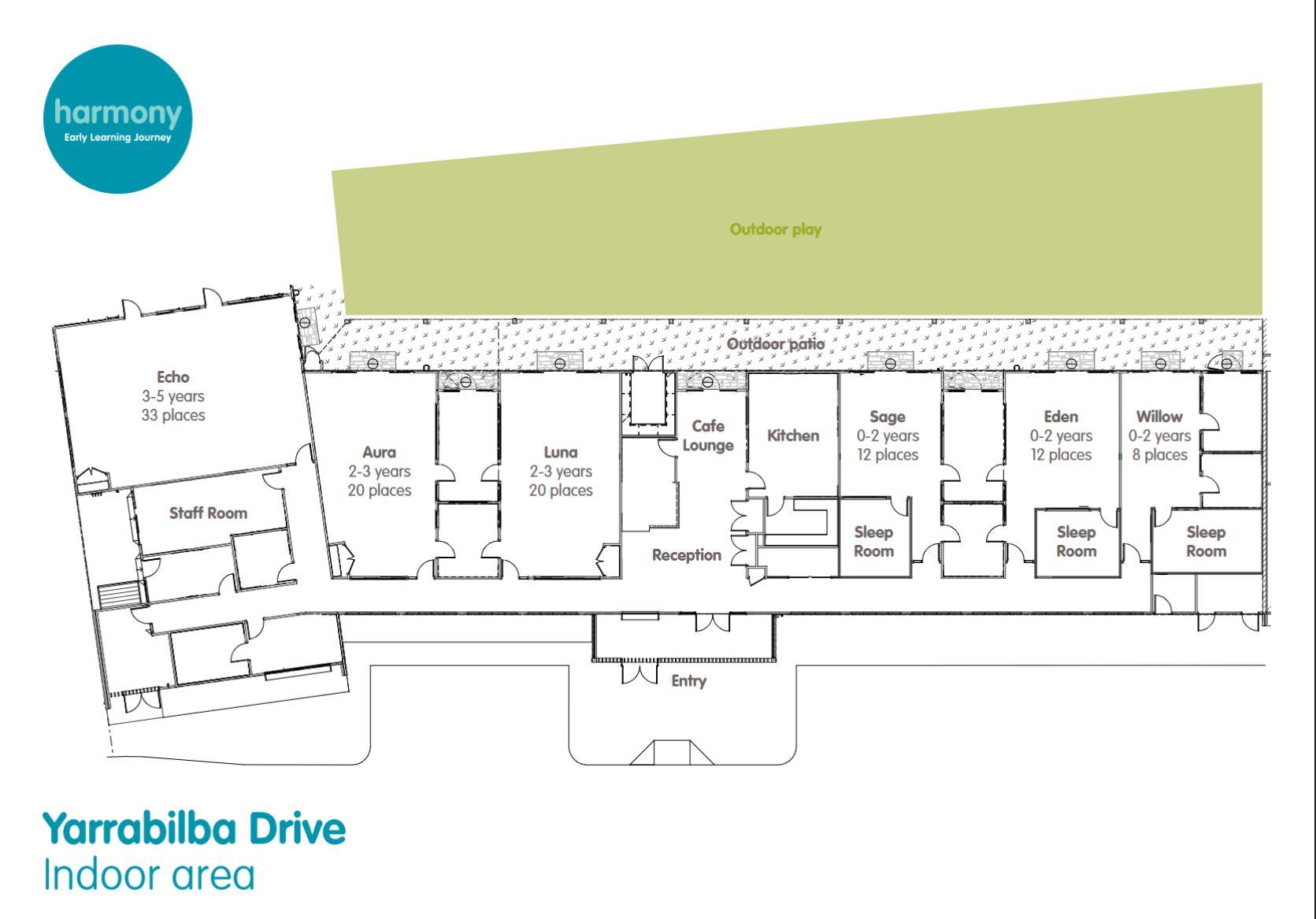 Yarrabilba Drive Floor Plan